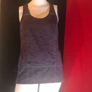Lucy Women's Athletic Wear  Top Purple Sz.S